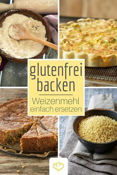 Baking gluten-free: wheat flour can be easily replaced- Glutenfrei backen: So lässt sich Weizenmehl einfach ersetzen Replace wheat flour: these tips make baking without gluten a pleasure! Gluten Free Wheat Flour, Gluten Free Baking, Scones Sans Gluten, Gluten Free Recipes, Vegan Recipes, Nutella, Camping Desserts, Camping Foods, Kayak Camping
