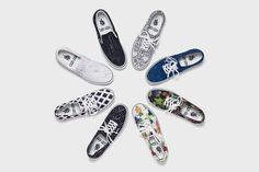Vans x Kenzo Fall/Winter 2012 Sneaker Collection