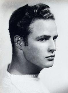 Marlon Brando, 1940s. (photographer unknown