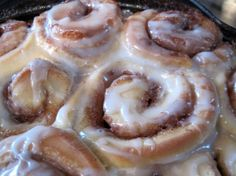Allergy friendly cinnamon rolls. (Dairy, egg and soy free.)