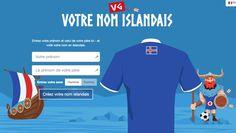 Islandsk. Écrivez votre nom en Islandais. #foot #humour