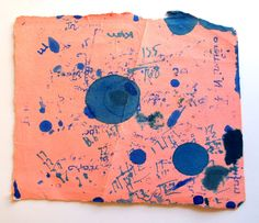 Blotting paper...you were given a piece if you were one of the 10 nearest writers in the class and were loaned a cartridge pen.