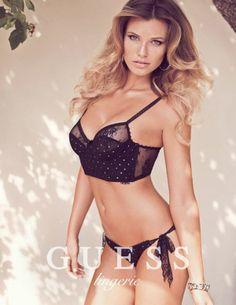 Samantha Hoopes forGuess Lingerie Spring 2014 Campaign #Guess #Lingerie #SamanthaHoopes