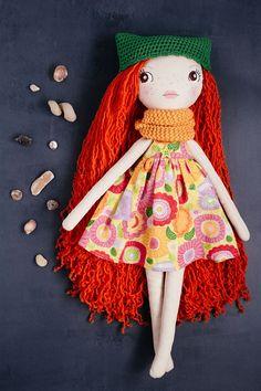 Eunice handmade OOAK doll art doll cloth doll rag doll