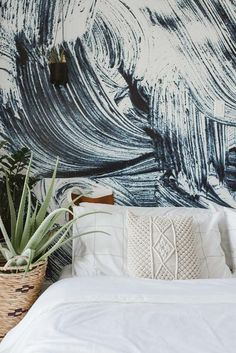Embrace your inner artist with this mural. Details include: Intricately detailed brush strokes Smooth, matte finish Includes four panels Photographs by Haley Salomons