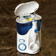 The Best Water Jet Dental Cleaner - Hammacher Schlemmer