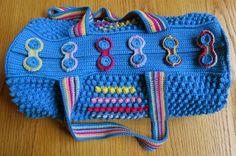 Crochet Round Bag Free Pattern