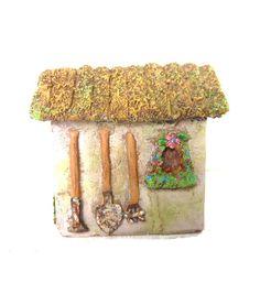 Fairy Garden Resin Garden Shed