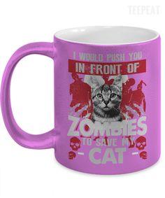 Save My Cat Metallic Mug #prints #prntable #painting #canvas #empireprints #teepeat