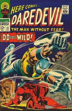 Daredevil Dec.1966 #23 [Regular Edition]