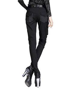 "Minibee Pernalized Punk Street Style Harem Pants Patchwork Zipper Pockets http://www.beststreetstyle.com/minibee-pernalized-punk-street-style-harem-pants-patchwork-zipper-pockets/ #fashion   Minibee Pernalized Punk Street Style Harem Pants Patchwork Zipper Pockets  This pants is women long pants,black harem pants,petite size,zipper,patchwork pocket,good for spring,summer and autumn.   Size S   Length:94cm//37""   Waist:70cm//27.6""   Hip:90cm//35.4""   Pants Cuff:26cm//10.2""   Size M   .."