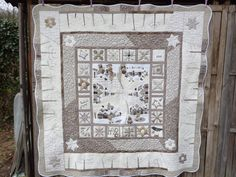 Table taupe quilt patternelegance : The winter von MJJenekdesigns winter quilt# table quilt# taupe quilt#