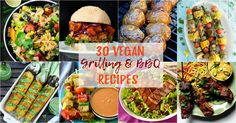 30 vegan BBQ and grilling recipes that will impress veggies and meat-eaters alike! As a vegan you definitely don't have to miss out on the BBQ season!
