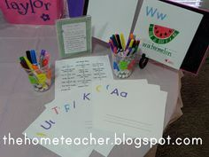 Alphabet Book: Free Printable - The Home Teacher