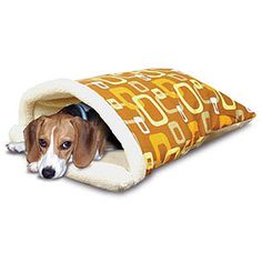 dog sleeping bag. need to make this for Waton, he would love it!