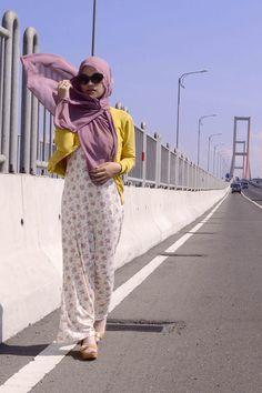 #streetstyle Muslimah fashion inspiration