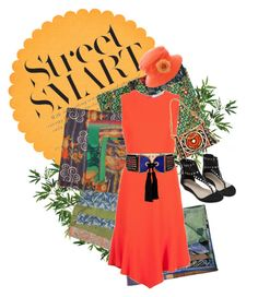 """""""Patchwork Jungle"""" by babygirltrice on Polyvore featuring Givenchy, Ella Moss, Hermès, NOVICA and Balmain"""