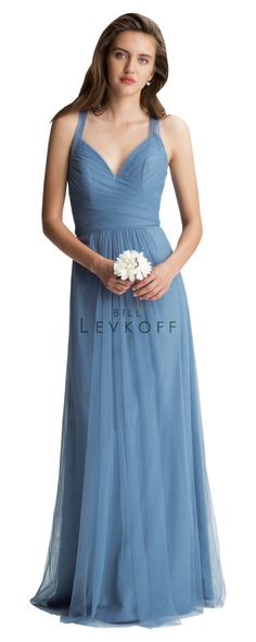 Call to set an appointment to see this bridesmaid dress by @billlevkoff! Loads of gorgeous color options and quality you can see! #bridesmaids #billlevkoff #longbridesmaid