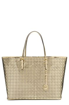 821ca8bb77 MICHAEL Michael Kors  Medium Travel  Leather Tote available at  Nordstrom  Michael Kors Tote