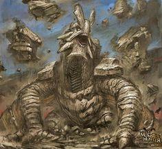 monster hunter art - Google Search