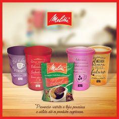 Esses potes customizados vão dar um charme a mais para a sua cozinha, além de deixar o seu café solúvel Melitta muito bem conservado. Para ganhar um, compre 3 embalagens de Café Solúvel Melitta de 50g. :)