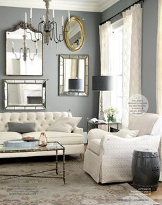 Ideas for Living Room Colors . Ideas for Living Room Colors . Room Paint Colors, Paint Colors For Living Room, Living Room Grey, Home And Living, Living Room Furniture, Living Room Decor, Living Rooms, White Furniture, Small Living