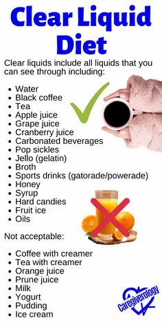 Liquid Diet Plan, Liquid Diet Weight Loss, Bariatric Eating, Bariatric Recipes, Bariatric Surgery, Diet And Nutrition, Health Diet, Gallbladder Diet, Fiber Diet
