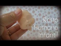 Rostinho esculpido na mão. Se você tiver difuldades, temos ele em molde de silicone pronto. www.moldedesilicone.com.br Para conhecer mais do meu trabalho www...