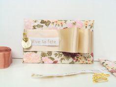 Caderno embalado em tecido