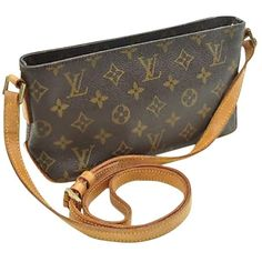 Pre-owned Louis Vuitton Cross Body Bag ( 499) ❤ liked on Polyvore featuring  bags db8e6d117b859