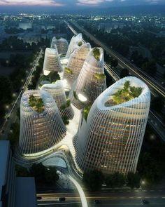 Chinesischer Architekt Ma: Ausgezeichnet radikal - SPIEGEL ONLINE - Nachrichten - Kultur