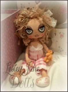 My Matilda  © Lesley Jane Dolls 2012  ~Sold~