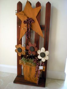 August 22, 2011 blog entry - a cute piece of folksy home-art to make