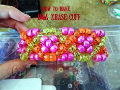 How to make an DNA designed xbase cuff