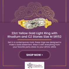 Beautiful Gold ladies rings in a fancy and elegant design, studded with the highest quality of Cubic Zircon stones all around enhancing its charm and appeal. Available in different stones, these classy rings are attractive and exude perfection. Beautiful Gold Rings, Light Ring, White Gold Jewelry, Gold Light, Diamond Pendant Necklace, Crowd, Ph, Stones, Classy