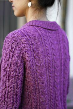 Ravelry: Grandpa Cardigan pattern by Joji Locatelli