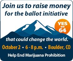 Oct. 7th: Yes On 64 Benefit Concert