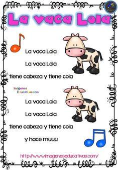 13 Ideas De Canciones Infantiles Canciones Infantiles Letras De Canciones Infantiles Canciones De Niños