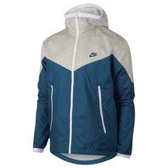 Details about Nike Men s Sportswear Windrunner Hooded Track Jacket (Light  Bone Industrial Blue f8679a27d