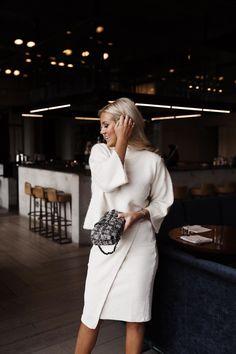 Everything white - Women Fashion Classy Business Outfits, Classy Outfits, Womens Fashion For Work, Fashion Tips For Women, Spring Summer Fashion, Autumn Fashion, Scandi Chic, Office Looks, Classy Chic