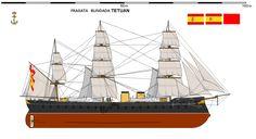 Fragata Blindada Tetuán 1863