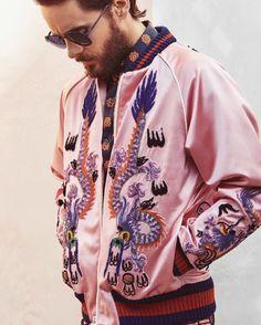 Jared Leto in Gucci. #GuiltyNotGuilty #Gucci #JaredLeto