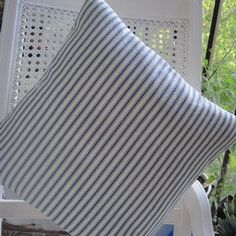 Nautical Ticking Stripe, mixed with desert flower, like a global, chive flower
