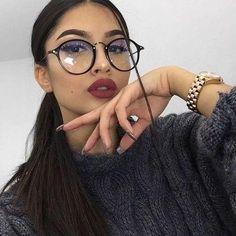 99d2f84c30348 2018 Retro Women Glasses Frame Men Eyeglasses Frame Vintage Round Clear  Lens Glasses Optical Spectacle Frame
