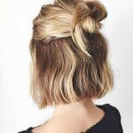 Easy-And-Cute-Hairstyle-For-Short-Hair