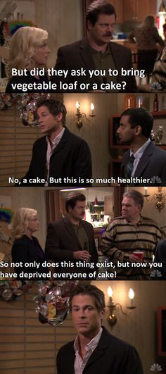 Parks and Recreation -  Chris Traeger and Ron Swanson