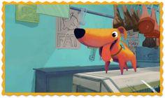 """""""THE DOG AND THE BUTCHER"""" VALORES: EMPATÍA, HUMOR https://vimeo.com/album/2298055/video/4457563 Un carnicero que da de comer pienso a su perro descubre por si mismo por qué el perro le roba los chorizos."""