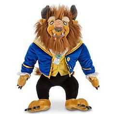 Disney Beast Plush - Beauty and the Beast - 17'' | Disney StoreBeast Plush - Beauty and the Beast - 17'' - Sure to say the least, ours is a most impressive plush Beast. Just one hug of this magnificent soft-stuffed doll and you'll fall under a spell of enchantment.