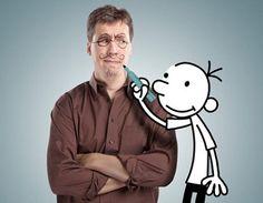 PIN 2 Jeff Kinney ontwikkelt online games.  hij wilde al vroeg cartoonist worden. hij schreef de strip Igdoof die in de krant van de campus verscheen.