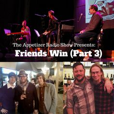 This week we conclude The Friends Win series with some of our best friends like Lindsay Katt, The Rocketboys, Elliott Park, Timothy Palmer, Tripp Mathis, Matt Steady, Marcio Novelli and more.